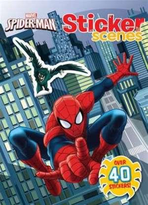 Marvel Spider-Man Sticker Scenes