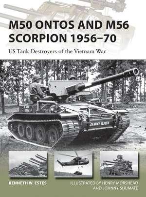 M50 Ontos and M56 Scorpion 1956–70 imagine