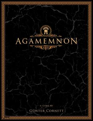 Agamemnon: A fast-paced strategy game for two players de Günter Cornett