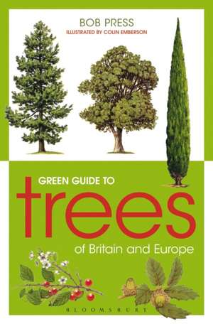 Green Guide to Trees Of Britain And Europe de Colin Emberson