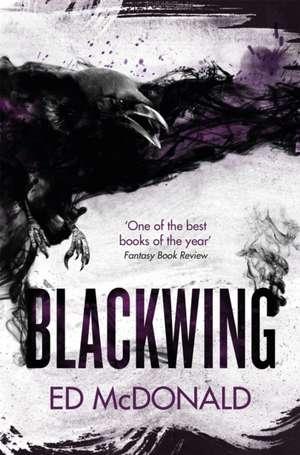 Blackwing de Ed McDonald
