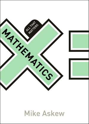 Mathematics:  All That Matters de Mike Askew