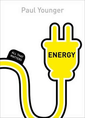 Energy: All That Matters de Paul L. Younger
