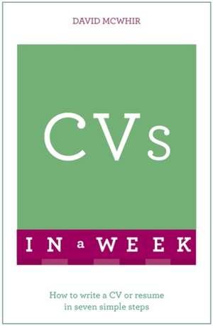 CVS in a Week de David McWhir