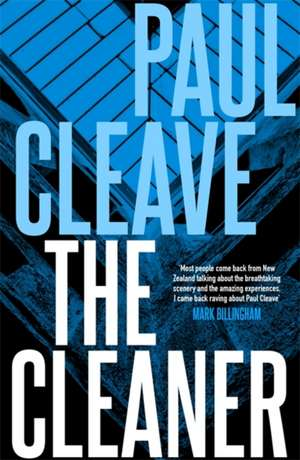 Cleaner de Paul Cleave