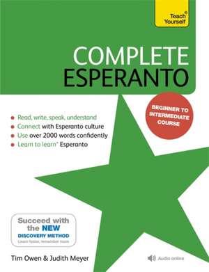Complete Esperanto de Tim Owen