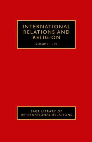 International Relations and Religion de Ron E Hassner