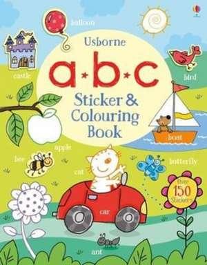 ABC Sticker and Colouring Book