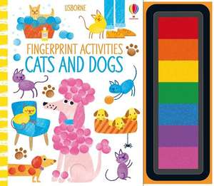 Fingerprint Activities Cats and Dogs imagine
