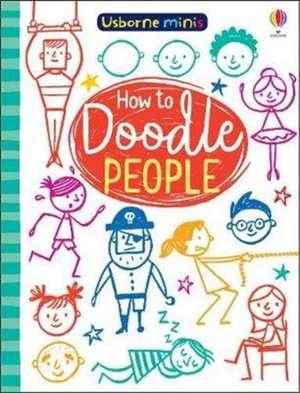 MINI BOOKS DOODLING PEOPLE imagine