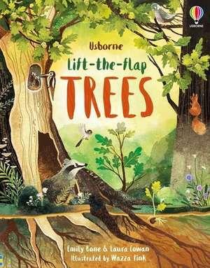 LIFT THE FLAP TREES de EMILY BONE