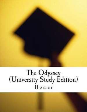 The Odyssey (University Study Edition) de Homer