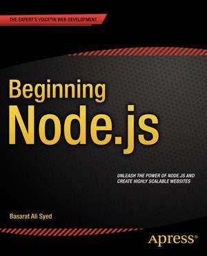 Beginning Node.js  de Basarat Syed