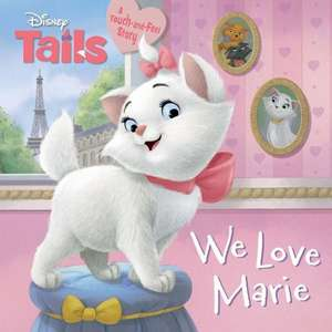 Disney Tails We Love Marie de Calliope Glass
