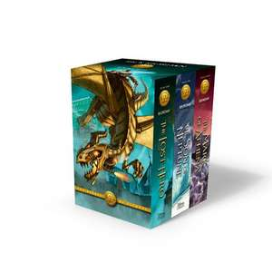 The Heroes of Olympus Paperback 3-Book Boxed Set de Rick Riordan