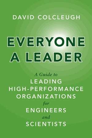 EVERYONE A LEADER de David Colcleugh