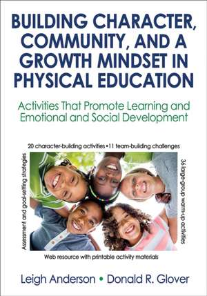 Building Character, Community, and a Growth Mindset in Physical Education with Web Resource