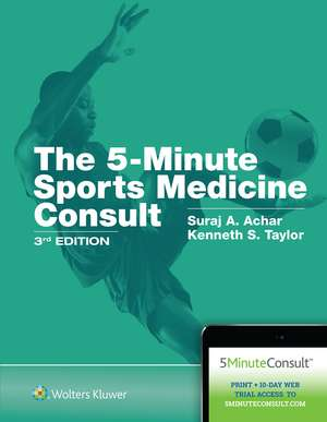 5-Minute Sports Medicine Consult imagine