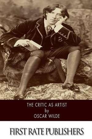 The Critic as Artist de Oscar Wilde