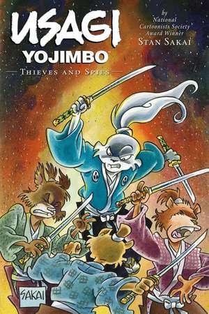Usagi Yojimbo Volume 30: Thieves & Spies
