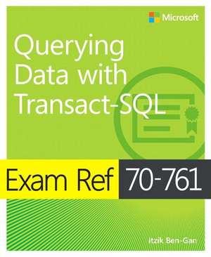 Exam Ref 70-761 Querying Data with Transact-SQL imagine