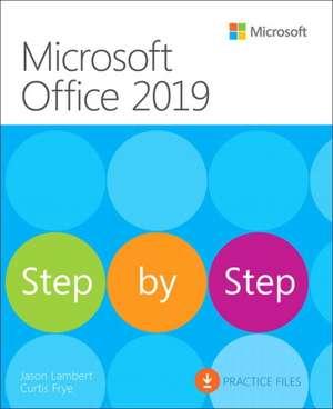 Microsoft Office 2019 Step by Step de Joan Lambert