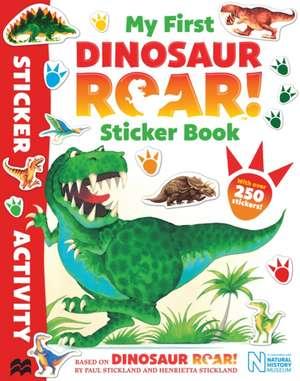 My First Dinosaur Roar! Sticker Book de Jeanne Willis