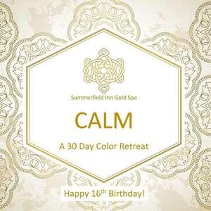 Happy 16th Birthday! Calm a 30 Day Color Retreat de One Linnea Place