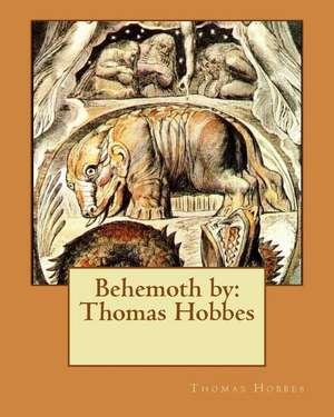 Behemoth by de Thomas Hobbes