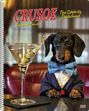 Crusoe the Celebrity Dachshund 2020 Engagement Calendar (Dog Breed Calendar) de Ryan Beauchesne