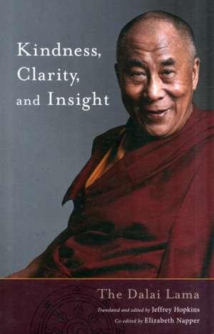 Kindness, Clarity, and Insight de Dalai Lama XIV