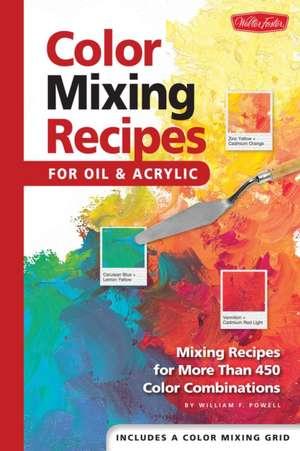 Color Mixing Recipes de William F. Powell