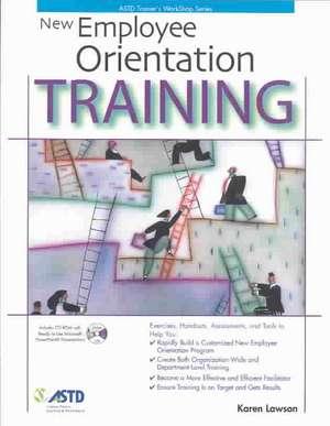 New Employee Orientation Training de  Karen Lawson