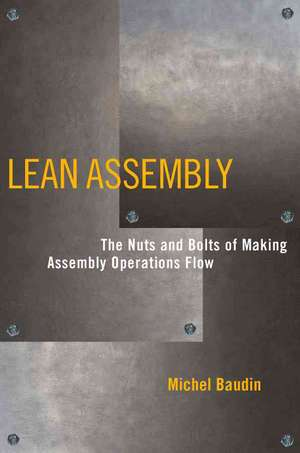 Lean Assembly de Michel Baudin
