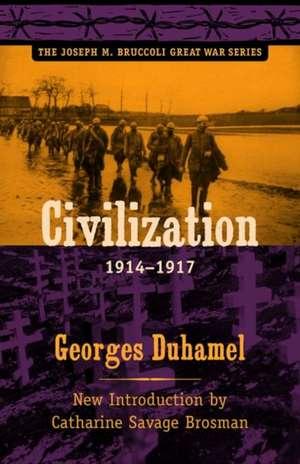 Civilization, 1914-1917 de Georges Duhamel