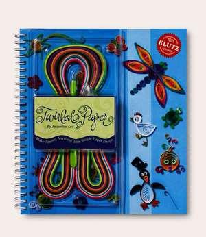 Klutz: Twirled Paper: Quilling, set complet, copii si adulti de la 8 ani de Jacqueline Lee
