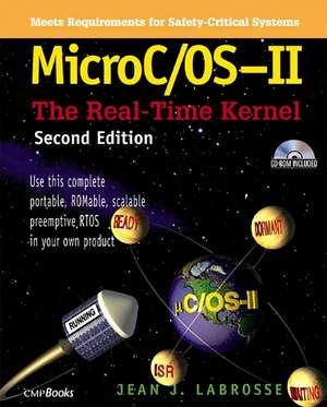 MicroC / OS-II de Jean J. Labrosse