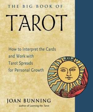 The Big Book of Tarot de Joan (Joan Bunning) Bunning