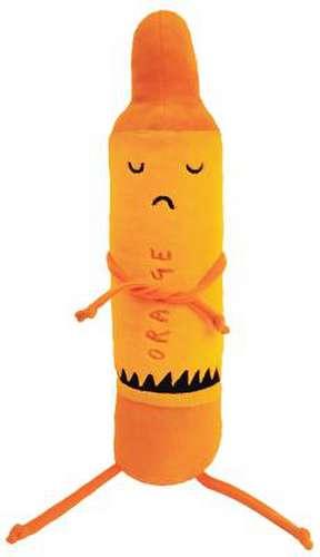 "The Day the Crayons Quit Orange 12"" Plush imagine"