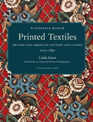 Printed Textiles de Linda Eaton