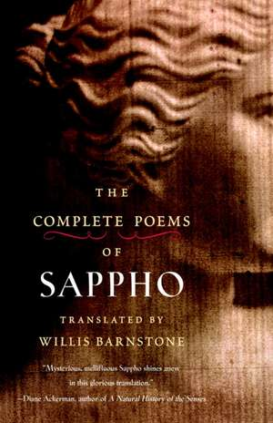 The Complete Poems of Sappho de  Sappho