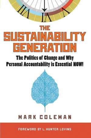 The Sustainability Generation imagine
