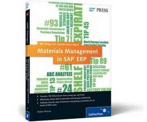 Materials Management in SAP ERP de Martin Murray