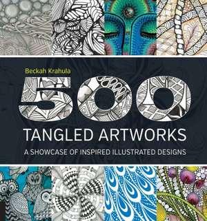 500 Tangled Artworks de Beckah Krahula