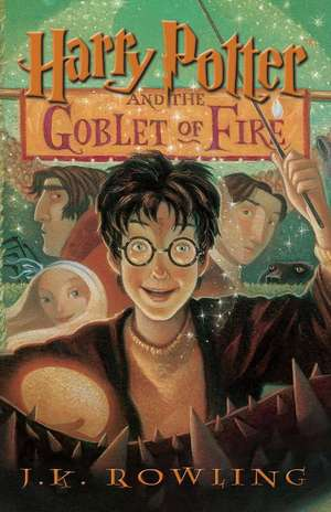 Harry Potter and the Goblet of Fire, Book4 de J. K. Rowling