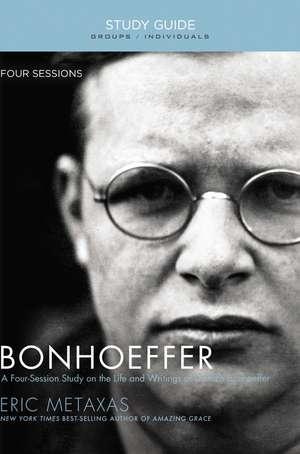 Bonhoeffer Study Guide imagine