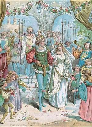 Royal Wedding - Greeting Card de Blue Lantern Publishing