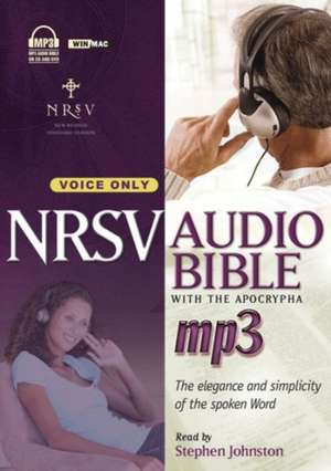 Voice Only Bible-NRSV de Stephen Johnston