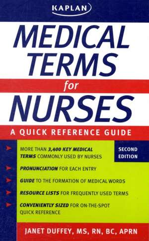 Medical Terms for Nurses: A Quick Reference Guide