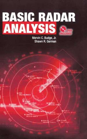 Basic Radar Analysis de Mervin C. Budge